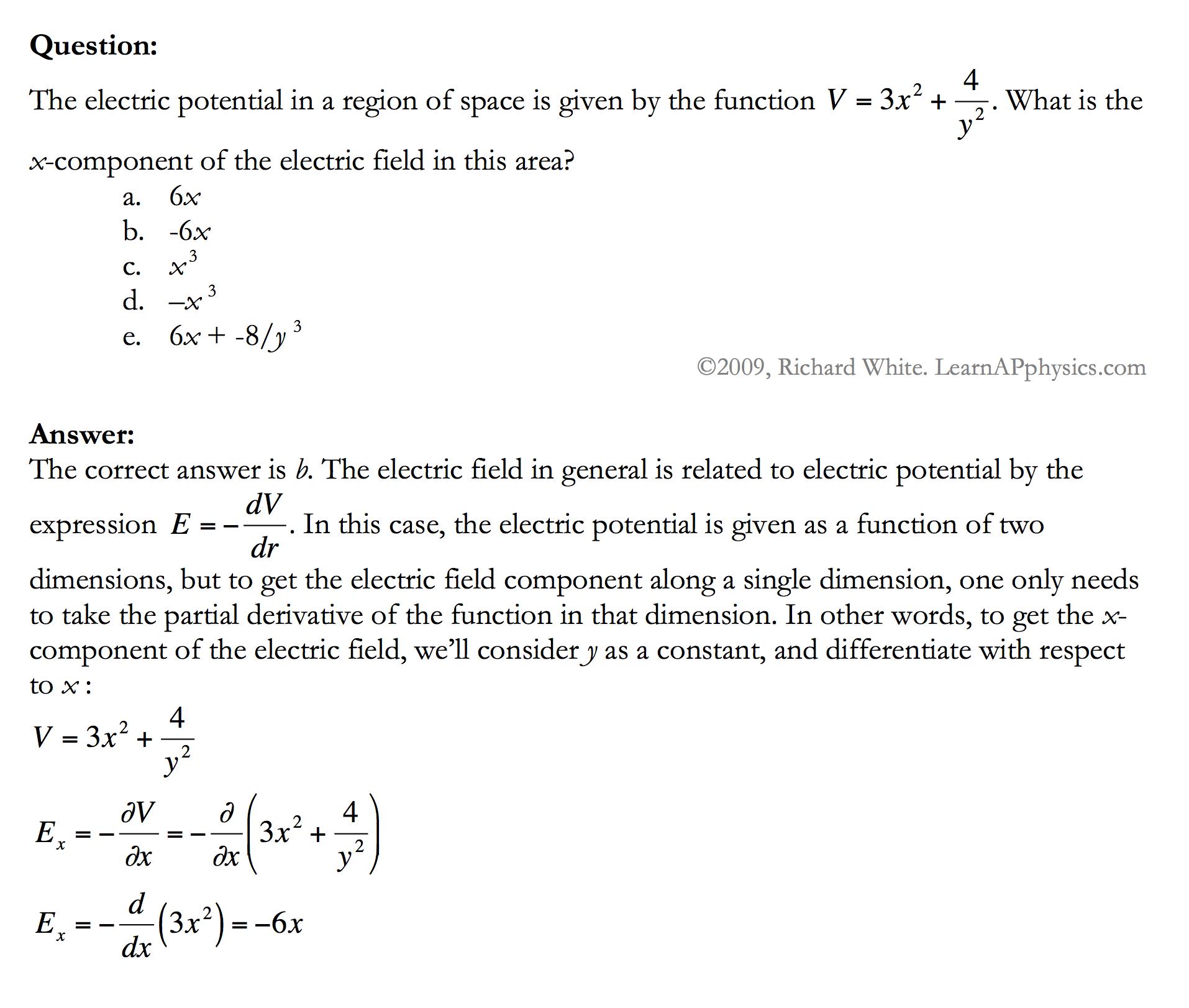electric field force sample problem term paper service