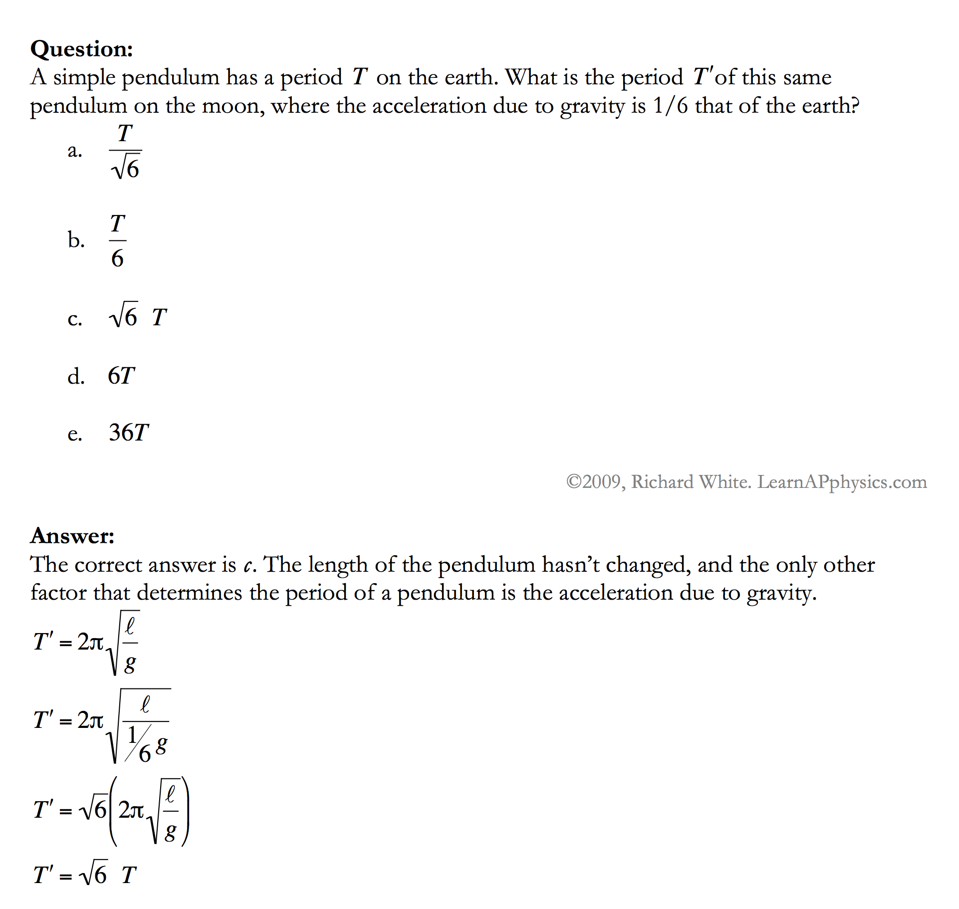 Learn AP Physics