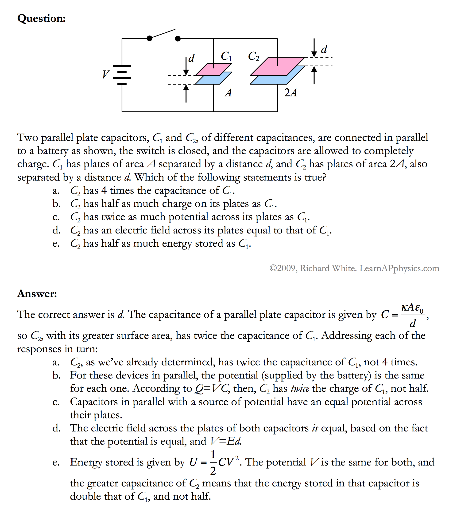 Learn AP Physics - AP Physics C - Circuits