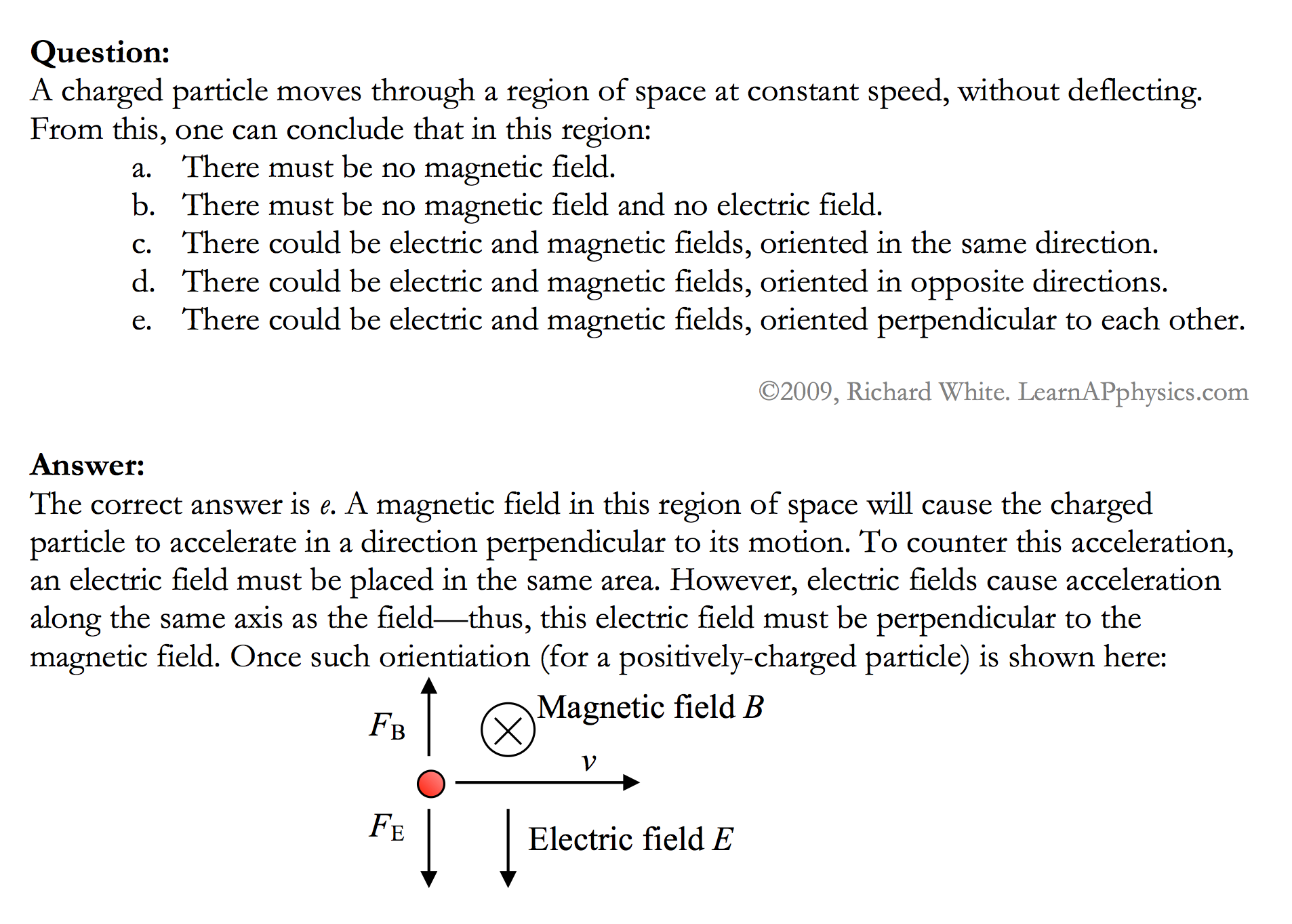 Multiple choice help in physics....Magnets and Magnetism ?