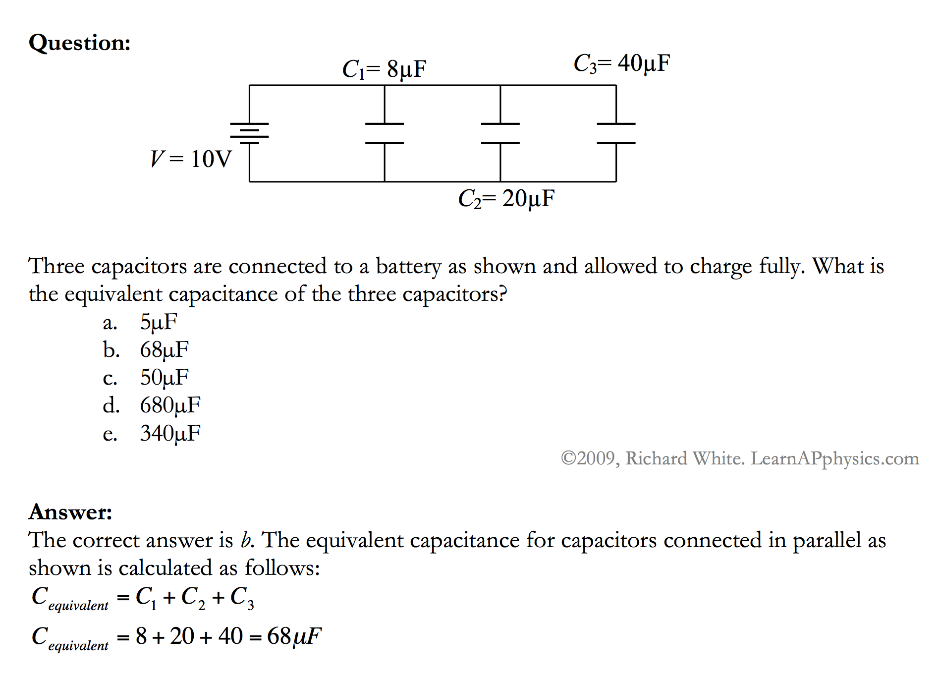 Capacitor Circuit Problems Capacitorcircuit Complex 28 Images An