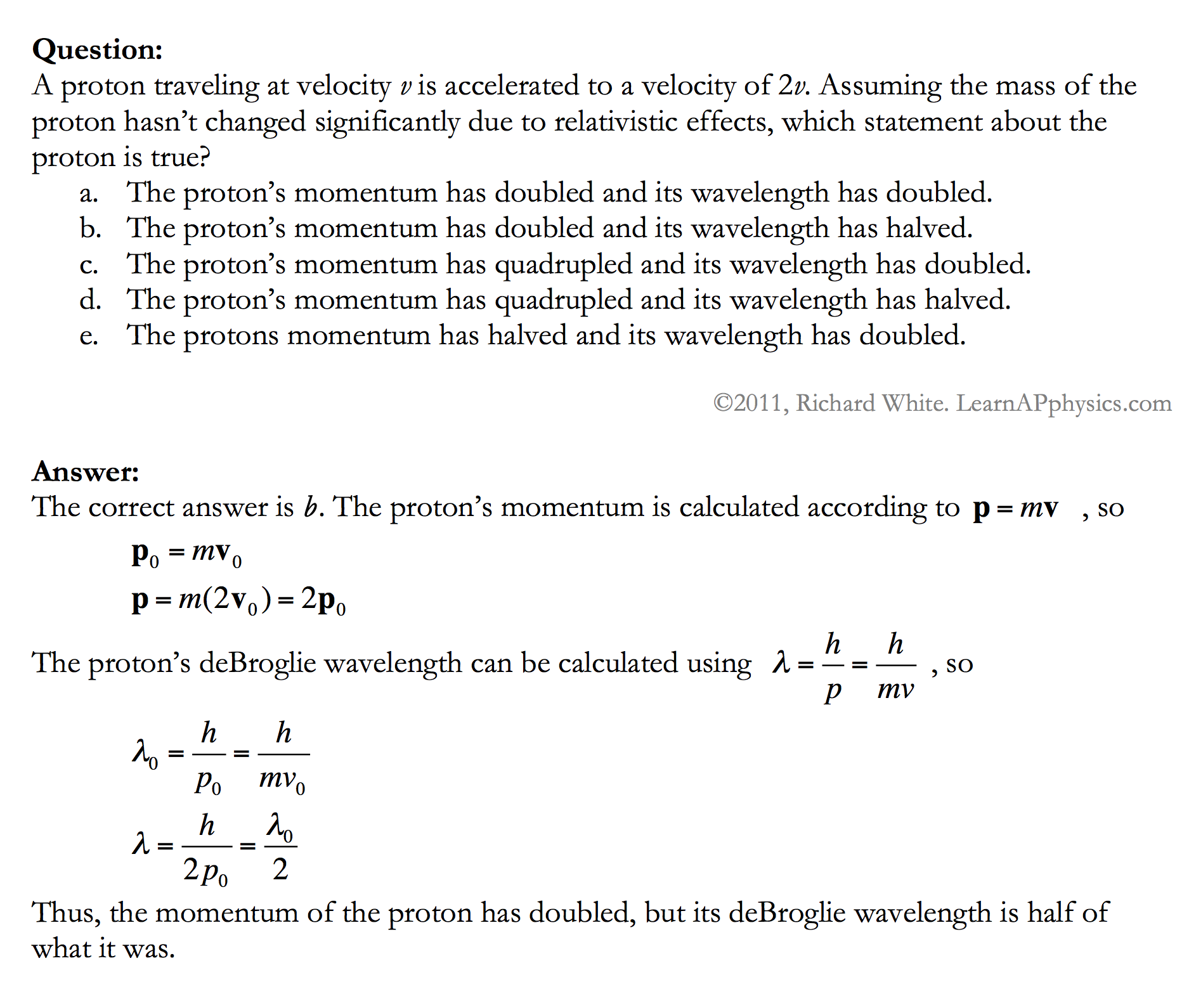 Learn AP Physics - AP Physics 1 & 2 - Modern Physics