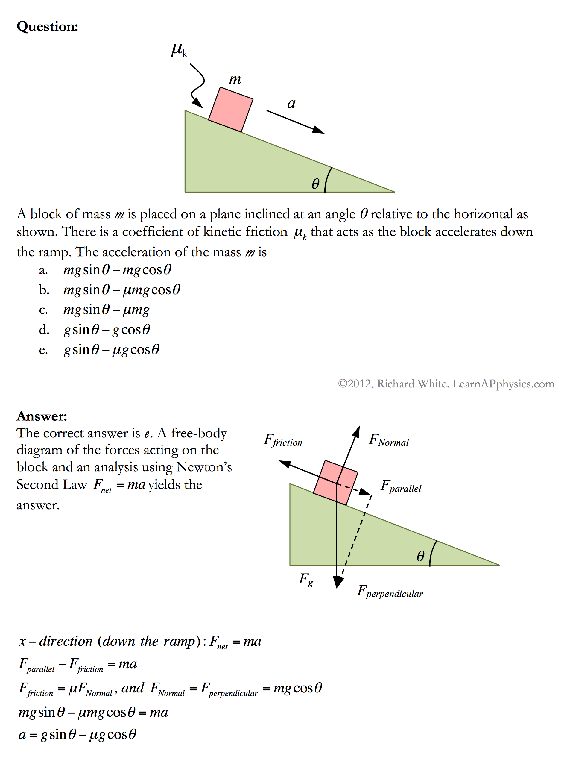 Learn AP Physics - Newton's Laws of Motion