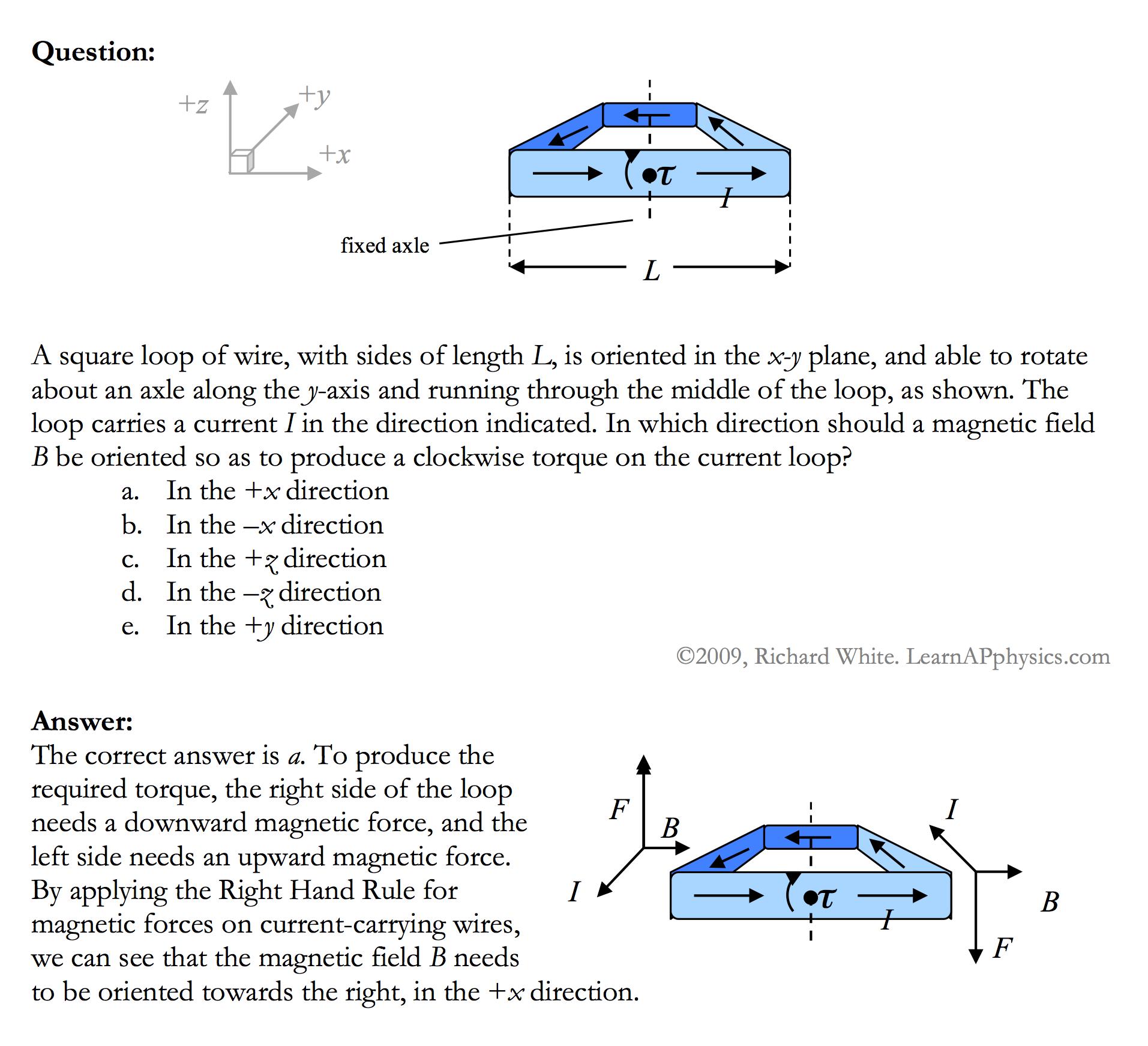 Learn AP Physics - Physics C - Magnetism