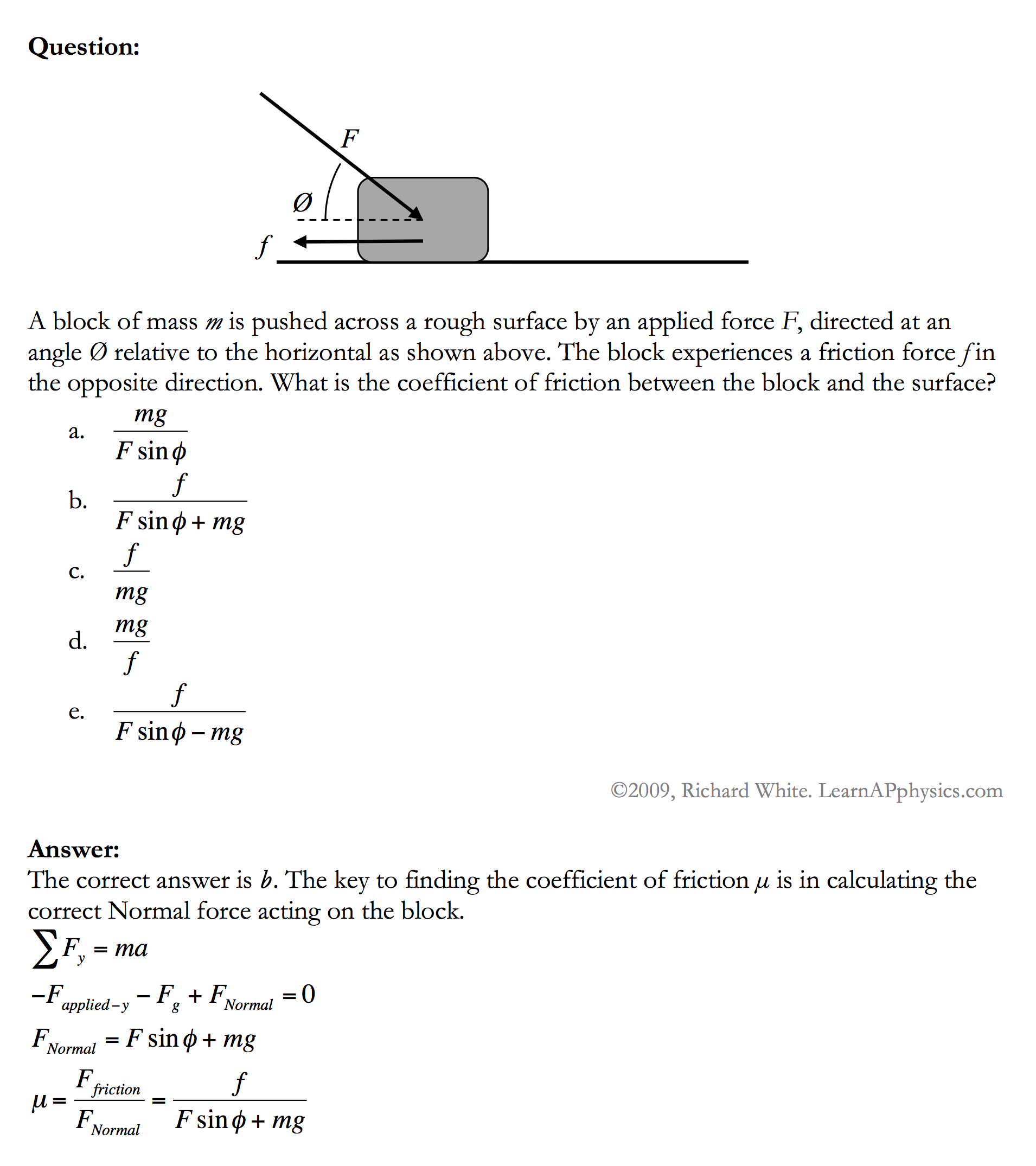 Coefficient Of Friction Worksheet Answers Templates and Worksheets – Friction Worksheet