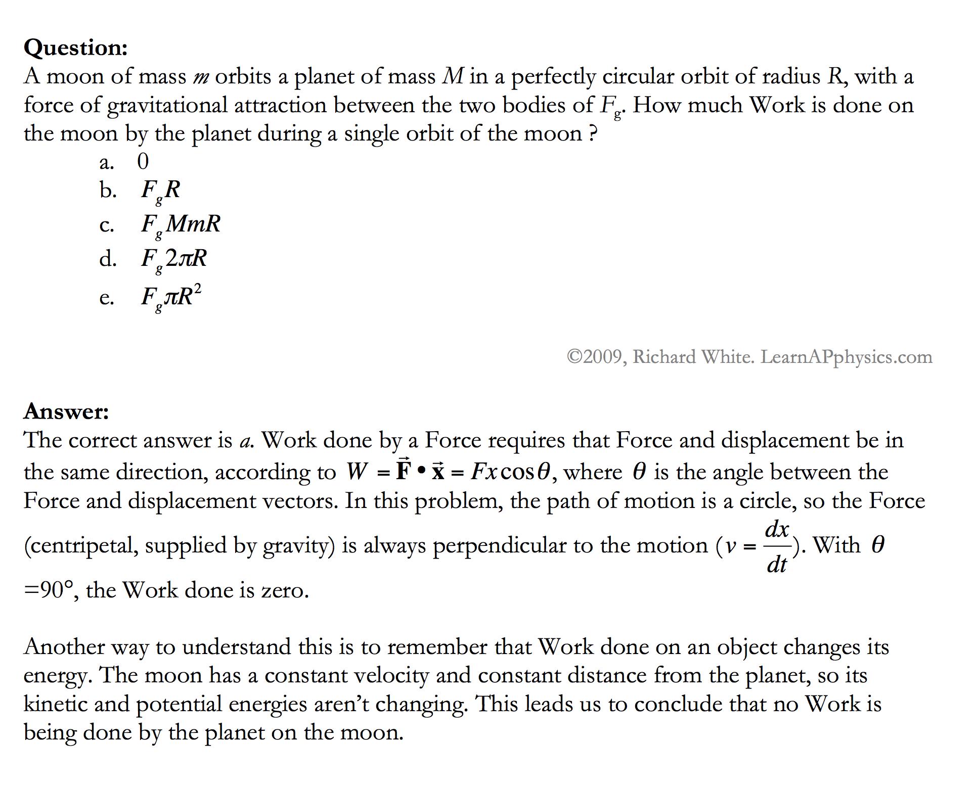 Learn AP Physics - AP Physics 1 & 2 - Work and Energy