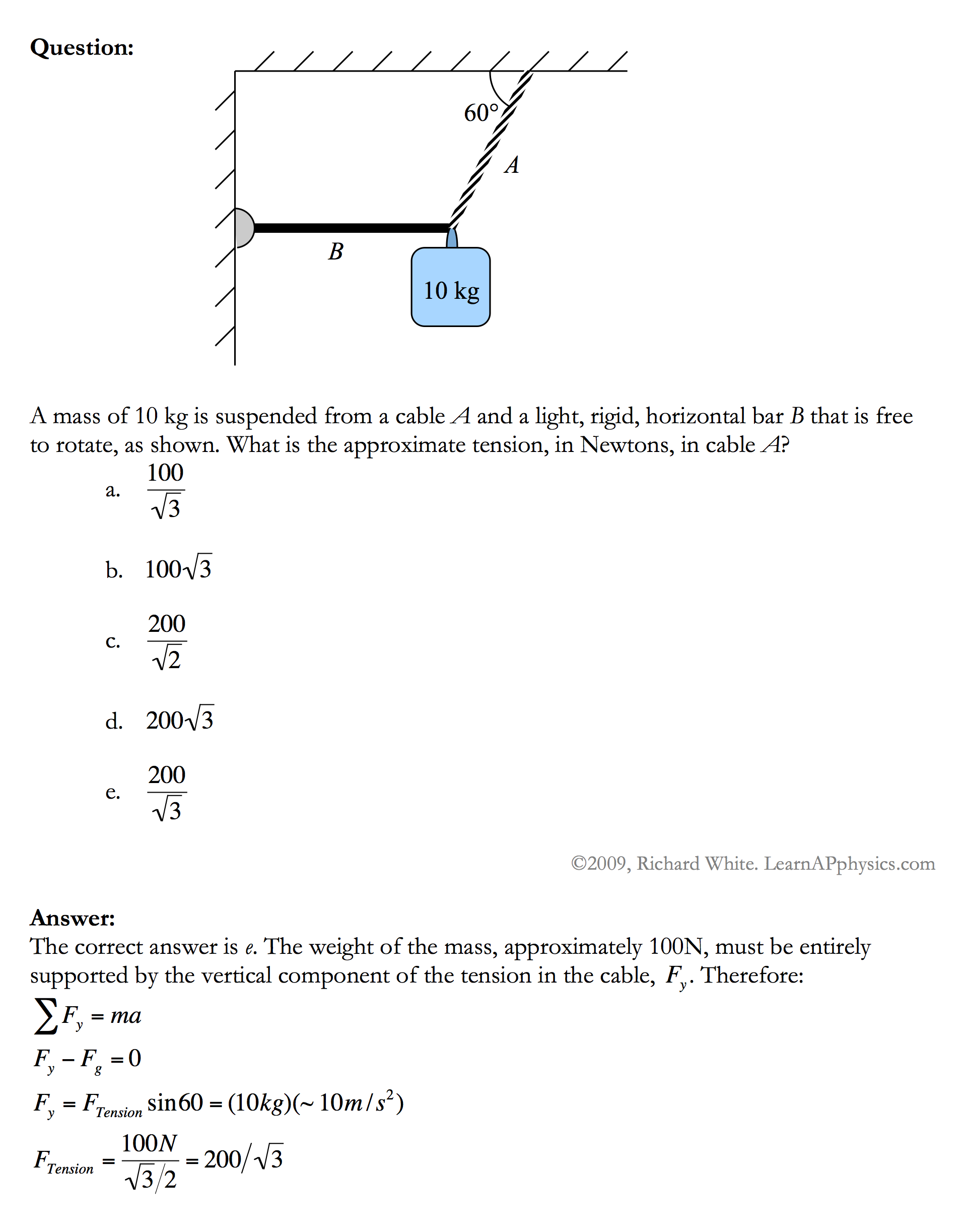 Learn AP Physics - AP Physics 1 & 2 - Newton's Laws of Motion
