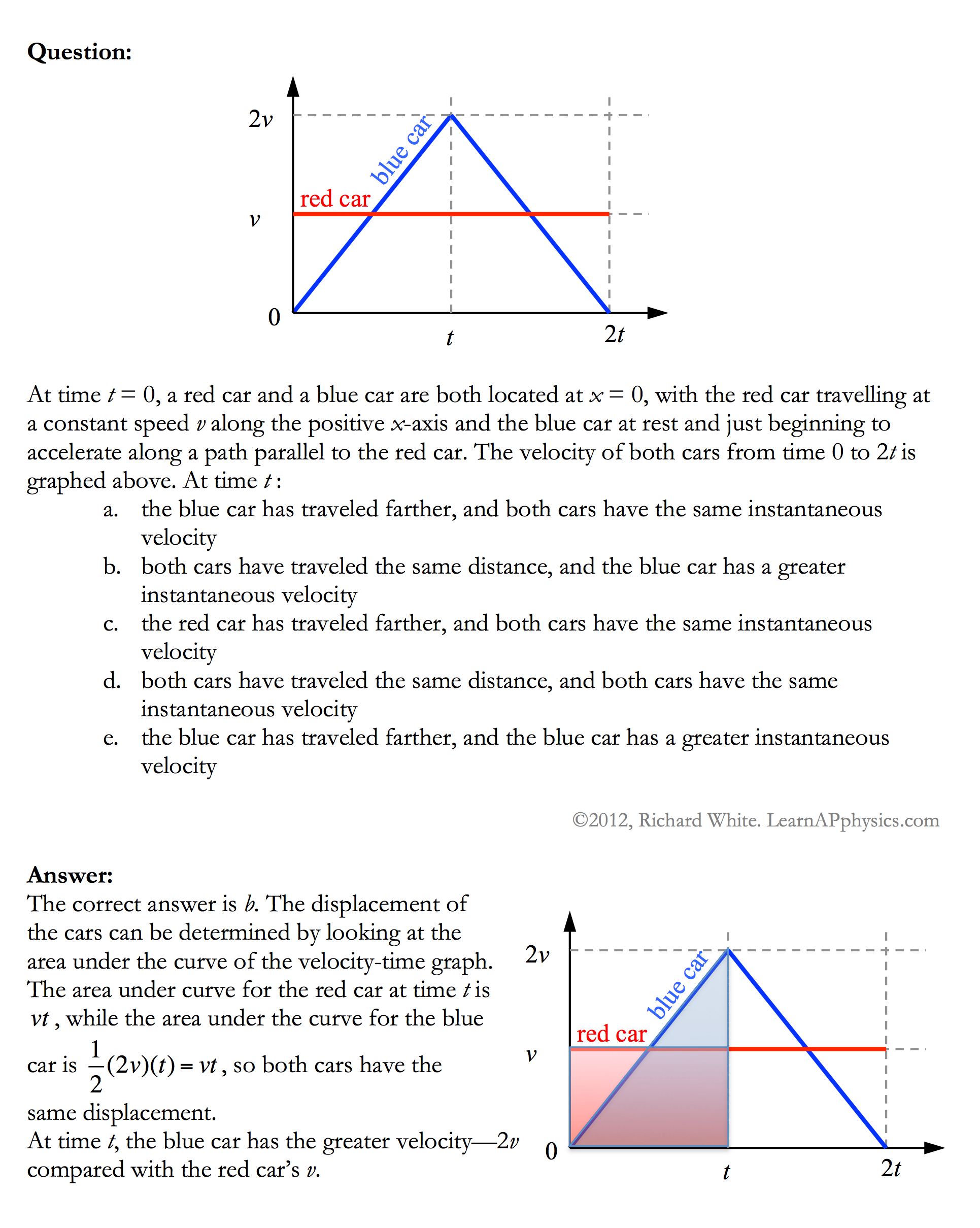 Learn ap physics physics c kinematics solution robcynllc Images